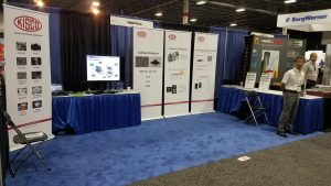 Uniglobe Kisco Battery Show Booth